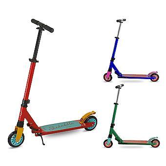 Kids Folding Push Kick Stunt Scooter for Children Boys Girls   Foldable Portable