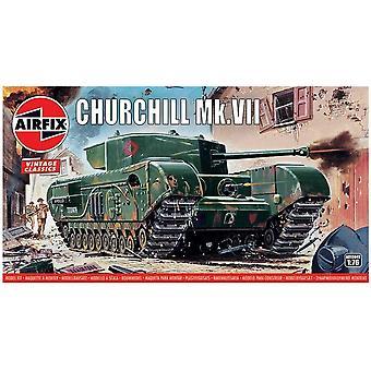 Churchill Mk.VII Airfix 1:76 Mallisarja