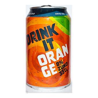 Forfriskende drik drik det orange (33 cl)