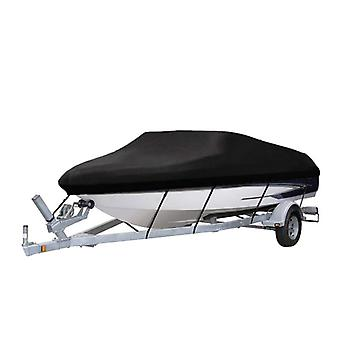 20-22ft Benchmark Boat Cover 210D Waterproof Canvas Trailerable Waterproof Boat Cover