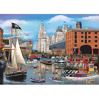 Otter House Dockside Jigsaw Puzzle (1000 Pieces)