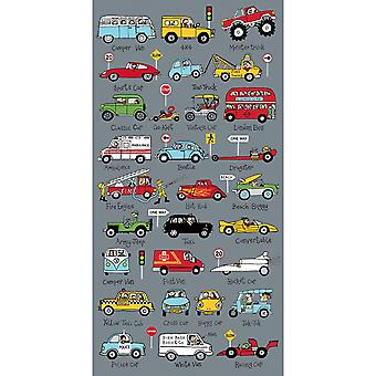 Tyrrell Katz Cars Serviette pour enfants