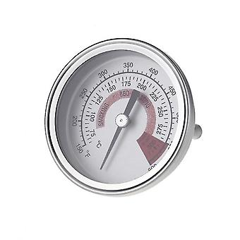 Stainless Steel Thermometer 57.5mm Bi Metal 75-300℃temperature Gauge For Industry Bbq Cooking