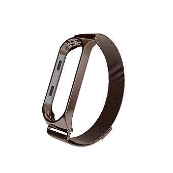 Cinturini per Mi Band 4/3 Cinturino da polso Metal Screwless Acciaio inossidabile per Xiaomi Mi Band 4/3 Cinturino