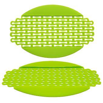 Silicone Strainer Anti Fridge Prevent Freezer Anti Frost Defrost Food Mat Green