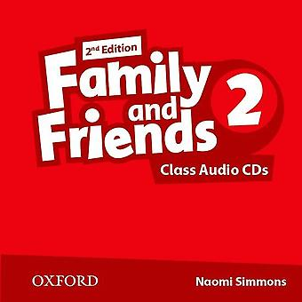 Family and Friends: Level 2. Class Audio CD (2 Discs)