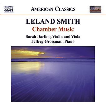 L. Smith - Leland Smith: Chamber Music [CD] USA import