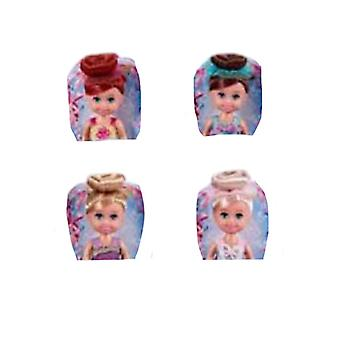"Sparkle Girlz 4.5"" Cupcake Doll Assorted (24s)"