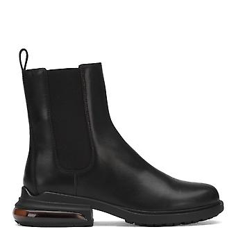 Ash RAYAN Chelsea Boots Black Leather