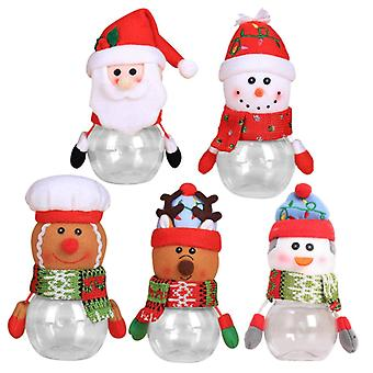 10pcs Christmas Candy Jar Christmas Box Xmas Candy Container
