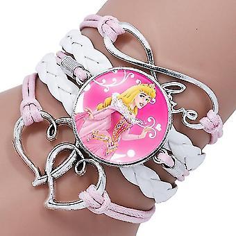 Disney Princess Cartoon Bracelet - Wristand Bangle Kid Make Up Sieraden