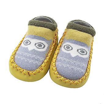 Cartoon Design Anti-slip With Soft Sole Shoe Socks