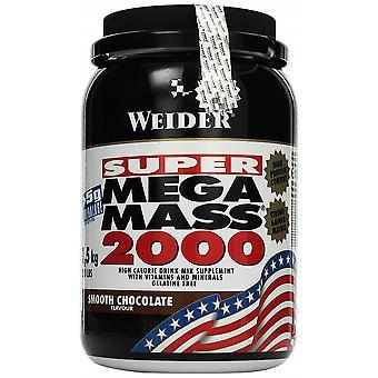 Mega Mass 2000, Smooth Chocolate - 1500 grams
