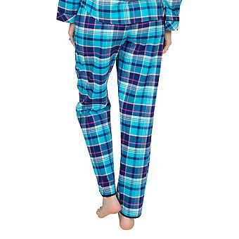 Cyberjammies Charlotte 4970 Women's Blue Check Pyjama Pant