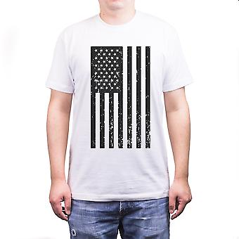 T-Shirts für Herren Vintage amerikanische Flagge Fourth Of July T-shirt lässig am 4. Juli
