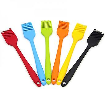 Kitchen Brush - Pastry Brush Kitchen Tools Silicone Bpa Free Heat Resistant Silicone Barbecue Brush Suitable For Pastry / Bbq / Steak (6 Packs)
