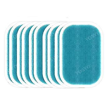 Massagers replacement gel pads for ems trainer- weight loss abdominal muscle stimulator 5pags 10pieces