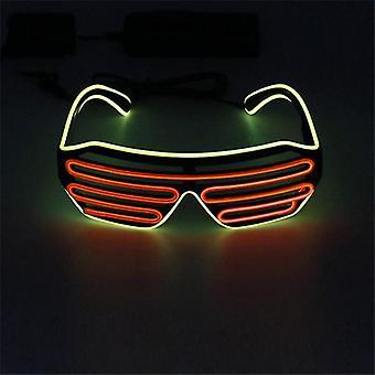 Halloween led lysende briller