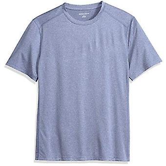 Essentials Men's Tech Stretch Short-Sleeve Performance T-Shirt, grey, Small