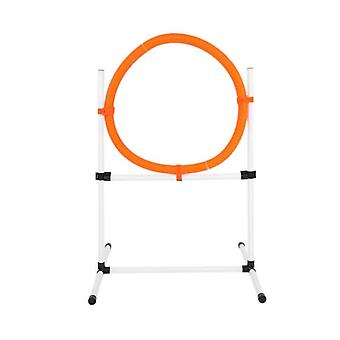 Universal dog jump hurdle hoop pole obstacle