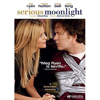 Allvarlig Moonlight [DVD] USA import