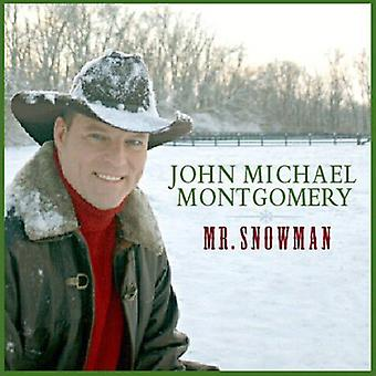 John Michael Montgomery - Mr. Snowman [CD] USA import