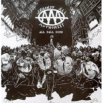 Against All Authority - import All Fall Down [CD] é.-u.