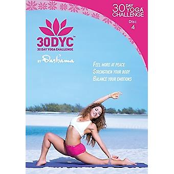 30Dyc: 30 Day Yoga Challenge with Dashama Disc 4 [DVD] USA import