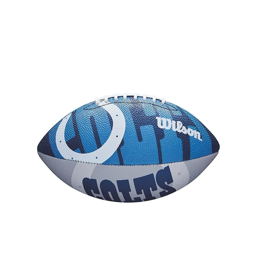 Wilson Nfl Indianapolis Colts Team Logo Junior Football