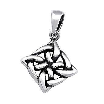 Celtic - 925 Sterling Silver Plain Pendants - W33385X