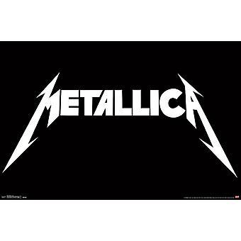 Metallica - Logo affisch Skriv