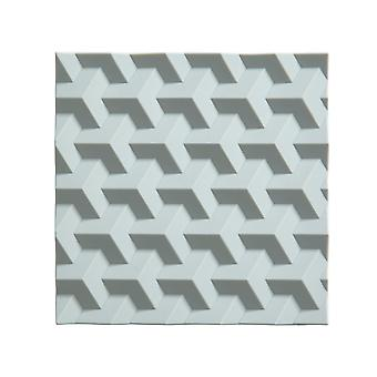 Silikon-Untersetzer, nordischen Himmel Origami Zone
