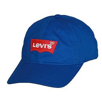 Levi's Classic Twill Curve Flexfit Cap ~ Big Batwing royal