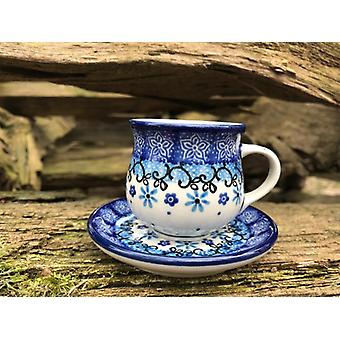 MoCCA - / espresso Cup + Saucer, 70-80 ml, Fleur delicate, BSN J-4761
