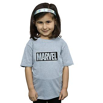 Marvel Girls logo obrys T-shirt