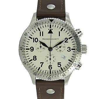 Aristo Messerschmitt men's watch chronograph Aviator watch ME-5030 BEIGE