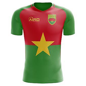 2020-2021 Burkina Faso Home Concept Football Shirt (Kids)