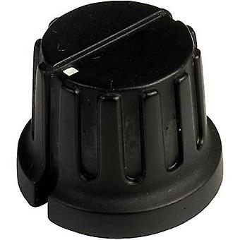 SCI PN-38C (6.4mm) Control knob + hand Black (Ø x H) 20.3 mm x 15.6 mm 1 pc(s)