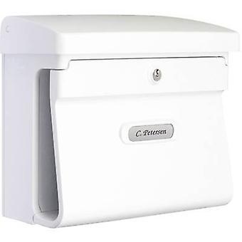 Burg Wächter 12590 BREMEN 885 W Letterbox Plastic White Key