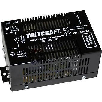 DC/DC Converter VOLTCRAFT 12/10 24 V DC/10 A