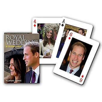 Royal Wedding joukko pelikortteja + Jokerit