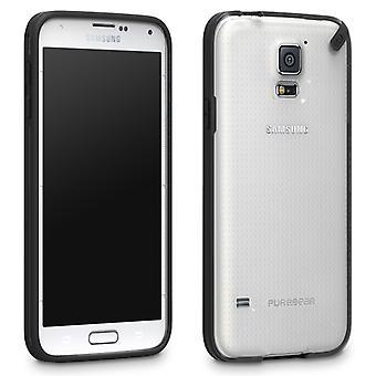 PureGear compacte voor slanke Snap-On beschermhoes voor Samsung Galaxy S5 (zoethout Jelly)