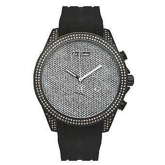 Joe Rodeo diamond men's watch - EMPIRE silver 2.25 ctw