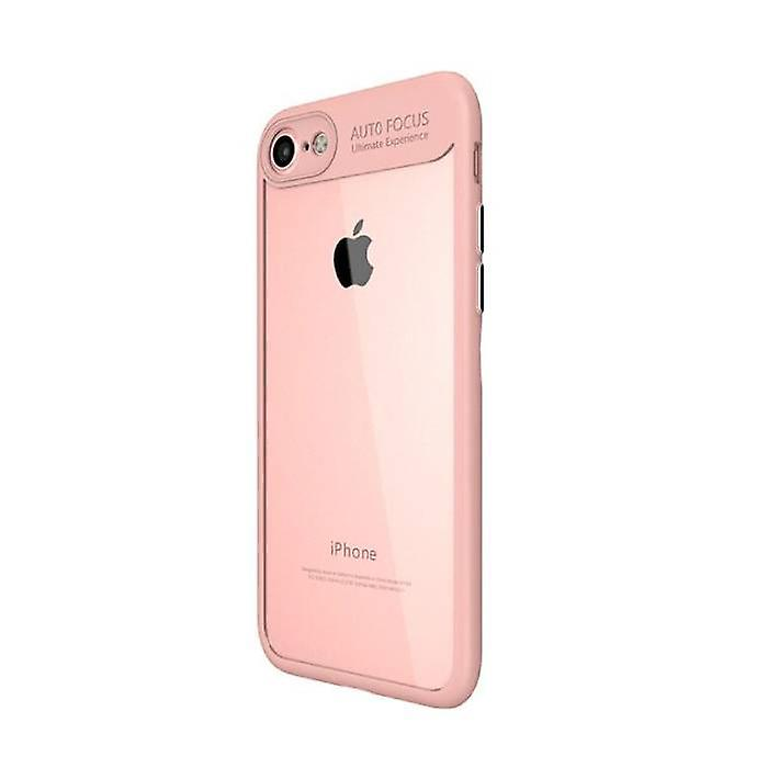 Stuff Certified ® iPhone X - Auto Focus Armor Case Cover Cas Silicone TPU Case Pink