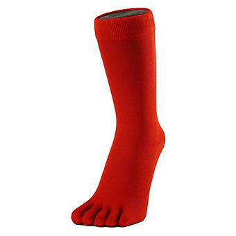 MAXIME classique Toe Socks - rouge
