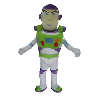 mascot SPOTSOUND of Buzz Lightyear, famous character in Toy Story