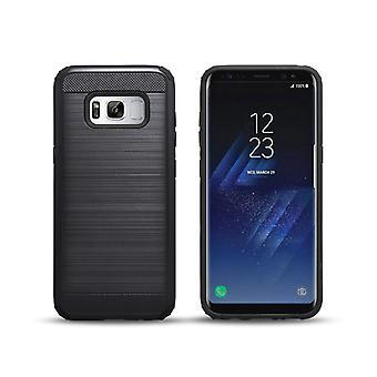 Matowa czarna obudowa - Samsung Galaxy S8