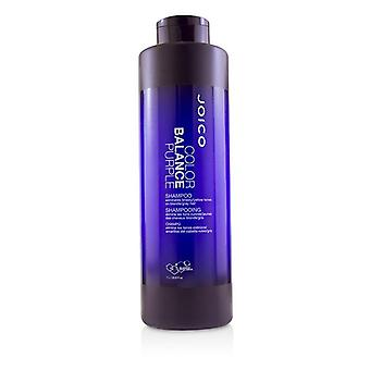 Joico Color Balance Purple shampoo (elimineert Brassy/gele tinten op blond/grijs haar)-1000ml/33,8 oz