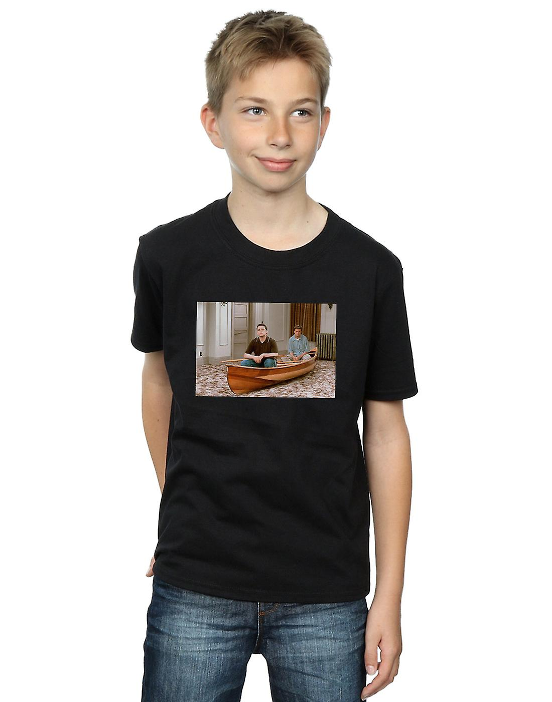 Friends Boys Boat Photo T-Shirt