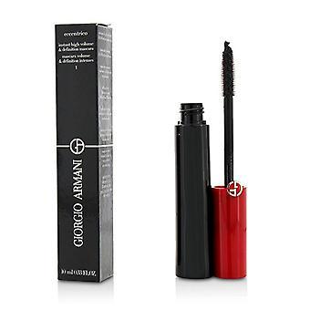 Giorgio Armani Eccentrico Instant High Volume & Definition Mascara - # 1 Obsidian Black - 10ml/0.33oz